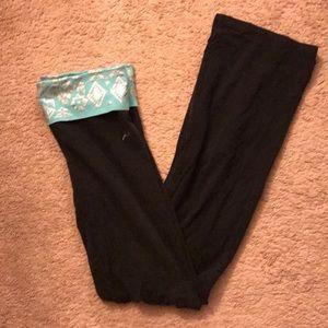 Pink Victoria secret yoga pants
